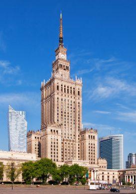 Liceum w centrum Warszawy